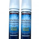 2 MONTHS KIRKLAND MINOXIDIL  5%  Foam Mens Hair Regrowth Free Shipping Aerosol