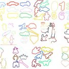 1152 Rubber Bands BANDZ WHOLESALE Silly Shapes Bracelets New FREE SHIPPING  SALE