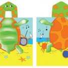 Turtle Hooded Beach Towel Kids  Bath Costume Cotton Pool Cover Up Robe Fun New