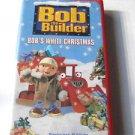 Bob the Builder - Bob's White Christmas   Children VHS Tape video Kid In Case