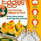 Eggies Hard Boil Egg Cooker 6  with Bonus Egg White Separator As Seen On TV New