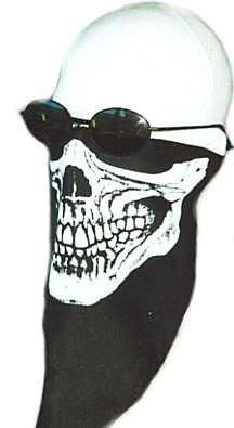 Skull Mask Biker Motorcycle Face Protection Bugs Cloth Winter Snow Boarding Ski