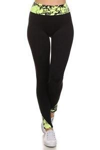 Leggings Sport Fitness Yoga Skinny Pants Active Wear Work Out Gym Tye Dye
