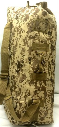 "Army Duffelbag Tan Digital  Hunting Gear Duffle Bag 42"" Inches Tactical Travel"