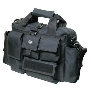 RANGE BAG Tactical Shooting Hunting BLACK Deluxe Large Gun Pistol Duffle Target