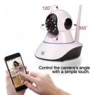 Streetwise IP Wireless Camera w/ Pan & Tilt Nanny Cam Phone App Motion Internet