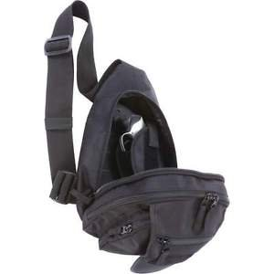 "Sling Pack with Concealed Handgun Holster 13"" Extreme Pak Gun Carry Messenger"