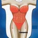 Red Lingerie Cover Up Sexy Body T Shirt Night Shirt Sleep Tee Free Shipping