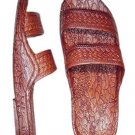 Pali Hawaii Sandals 405 Brown Unisex Soft Rubber Slip On Slide Jesus Shoes Beach