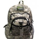 ACU Digital Camoflauge Backpack School Pack Bag Camo TB240 Camping Hiking Day