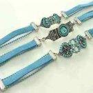 Turquoise Bracelets Lot Of 3 Assorted  Free Shipping Fashion Jewelery blue
