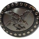 Flying Eagle Studded Belt Buckle New BUCKLES American Cowboy For 1 1/2 In New