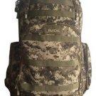 Tactical Backpack  ACU Digital MOLLE Tactical Hunting Rusksack Transport Bag 504
