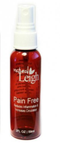 Natural Leigh Pain Free Pain Relief Spray 2 Oz Spray Bottle Stop Living In Pain