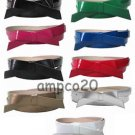 3/4 Inch Wide  Skinny Belt With Fashion Bow Woman Girls Lady Ladies .75 Colors