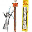 Moody Pet Fling-Ama-String Toy Cat Toy Battery Operated Barrel Of Laughs- Video