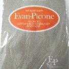 Vintage Evan-Picone The Silkee Sheer Panty Hose All Nude Size Medium Rouge