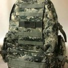 Military Molle Assault Tactical Backpack ACU Digital Large Rucksack Backpack Big