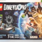 LEGO XBOX 360 Games DC Comics Batman Dark Knight Gandalf Dimensions Starter Pack
