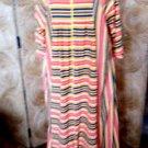 """Vintage Montgomery Ward Robe Full Length 55"""" House Coat Size Large 18-20"""
