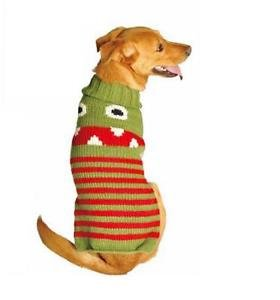 Little Monster Dog Sweater Chilly Dog Hand Knit Wool  XXS-XXXL Pet Puppy Warm