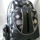 Charcoal Circles Backpack School Pack Bag  NEW 328PB hiking Rucksack Book