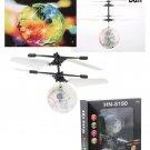 Flying Ball Drone Helicopter Ball Built-in Shinning LED Lighting Heli Mini RC