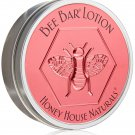 Honey House Naturals Large Bee Bar Body Lotion SWEET HONEY Large Tin Dry Skin