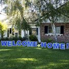 Welcome Home Outdoor Yard Lawn Sign Announcement Decoration Party Newborn Baby