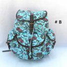 Fashion Print Backpack Book Bag Camping Hiking School Owls Giraffe Rucksack