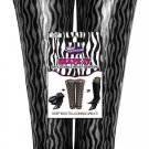 Just Solutions Inflatable Boot Shapers Zebra Storage Travel Tall Care Shaper 1PR
