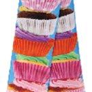 Cupcake Fun Novelty Socks Dress Casual Knee SOX Food Dessert Fashion Cup Cake