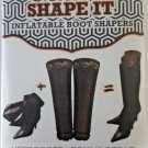 Just Solutions Inflatable Boot Shapers Deep Wave Storage Travel Tall Care Shoe