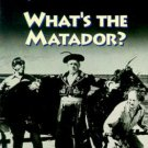 The Three Stooges WHAT'S THE MATADOR? VHS Video Tape Plus 2 Extra Episodes