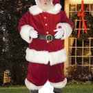 Ho Ho Santa Standee Outdoor Stand Up Christmas Decoration Lifesize Cardboard