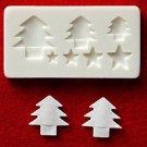 Miniature Christmas Tree - Sweet Deco - Floree Clay Mold