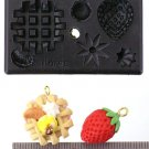 Miniature Waffle - Sweet Deco - Floree All-in-One Clay Mold