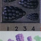 Clay Mold - Fake Miniature Grapes - Fruit Series (A) - Sweet Deco - Reusable