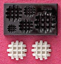 Clay Mold - Fake Miniature Waffle - Sweet Deco - Reusable