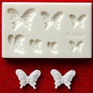 Clay Mold - Miniature Butterfly - Animal Series - Reusable