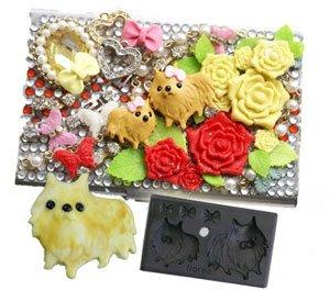 Clay Mold - Miniature Pomeranian Dog - Animal Series