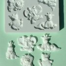 FOOD GRADE MOLD - Baby Animals Design - Cake Decorating Mold - The Art of Cake Dressing - (25)