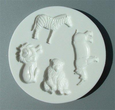 FOOD GRADE MOLD - Wild Animals Design - Cake Decorating Mold - The Art of Cake Dressing (39)