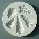 FOOD GRADE MOLD - Christmas Tree Design - Cake Decorating Mold - The Art of Cake Dressing (54)