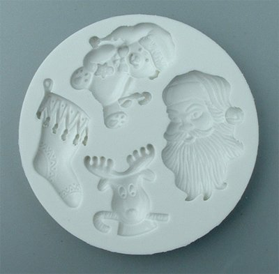 FOOD GRADE MOLD - Christmas Theme Design - Cake Decorating Mold - The Art of Cake Dressing (43)