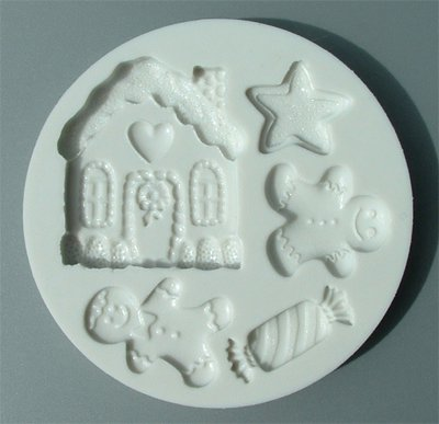 FOOD GRADE MOLD - Christmas Theme Design - Cake Decorating Mold - The Art of Cake Dressing (48)