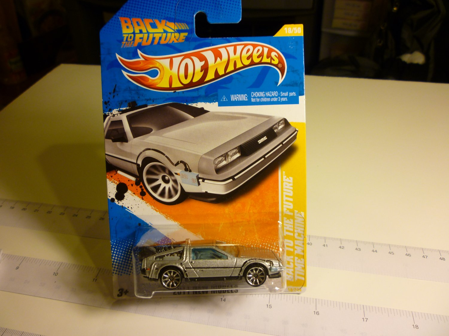 De Lorean Matchbox Car - Back to the future car - Rare Item