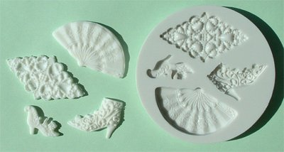 FOOD GRADE MOLD - The Vintage Design - Cake Decorating Mold - The Art of Cake Dressing - (32)