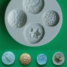 FOOD GRADE MOLD - The Random 2 Design - Cake Decorating Mold - The Art of Cake Dressing - (60)