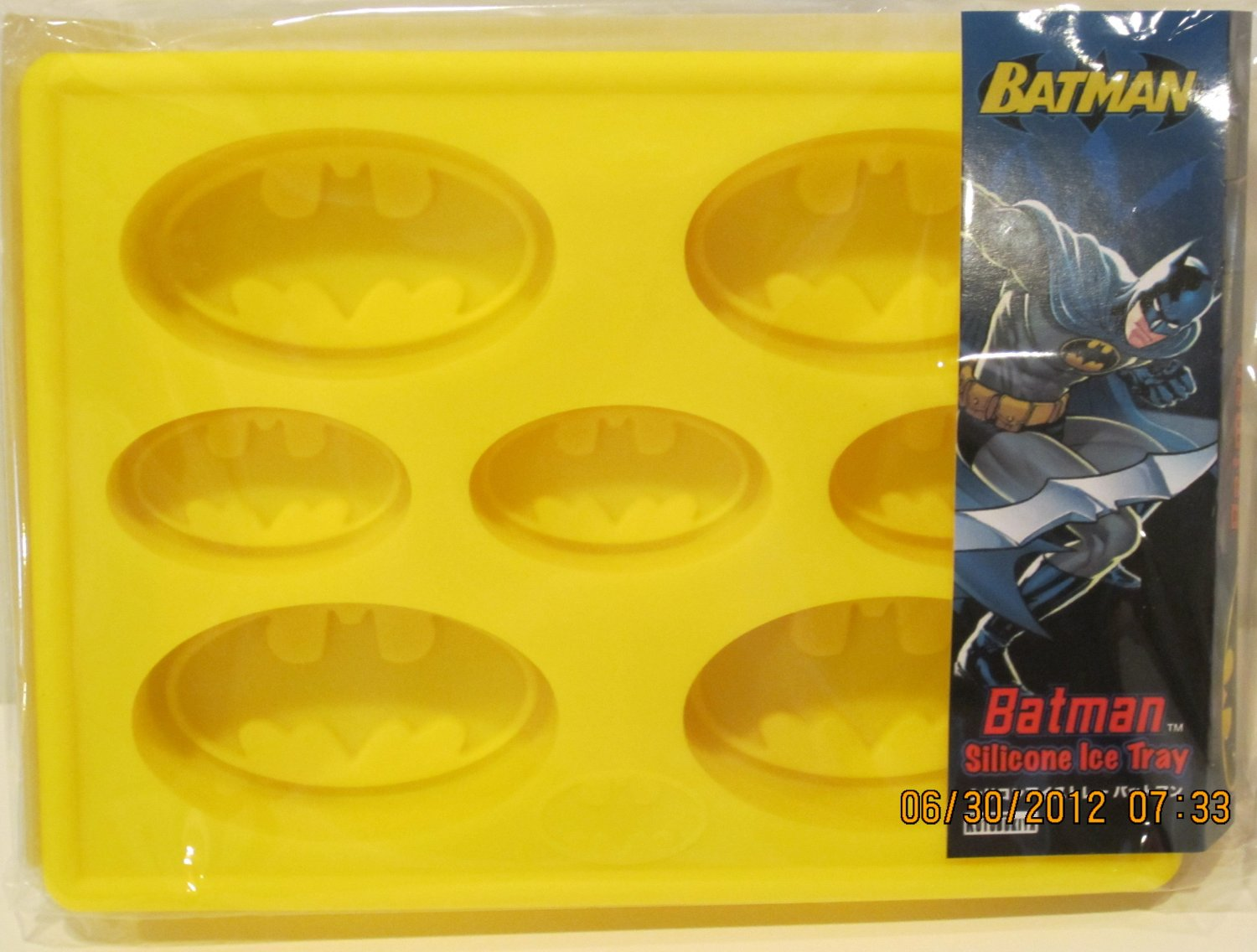 Silicone Ice Tray/Mold - Batman - for Ice, Coffee, or Chocolate